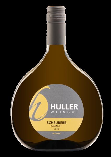 2018 Scheurebe Kabinett, halbtrocken